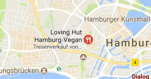 Loving Hut Hamburg Willkommen